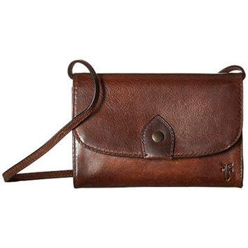 Frye Melissa Leather Wallet Crossbody Bag (Preloved)