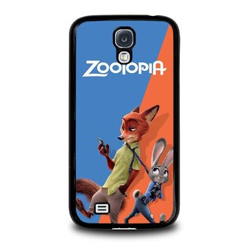 ZOOTOPIA NICK AND JUDY Disney Samsung Galaxy S4 Case Cover