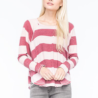 Billabong See The Light Womens Tee Blush  In Sizes