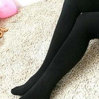 Black Casual Tights