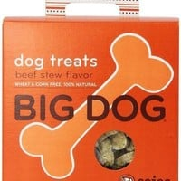 Sojos Big Dog Biscuits Beef Stew Natural Treats 12 oz