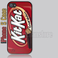 Kit Kat Candy Custom iPhone 5 Case Cover