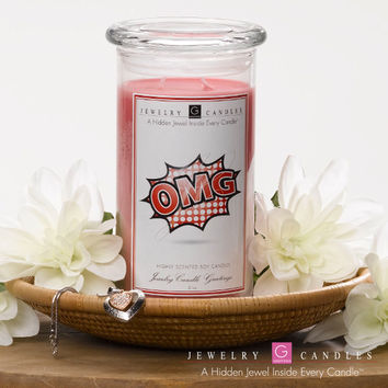 OMG! - Jewelry Greeting Candles