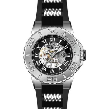 Invicta Men's 24738 Pro Diver Automatic 3 Hand Black Dial Watch