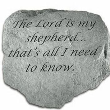 The Lord is my Shepherd - Stone