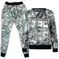 Money Print Tracksuit