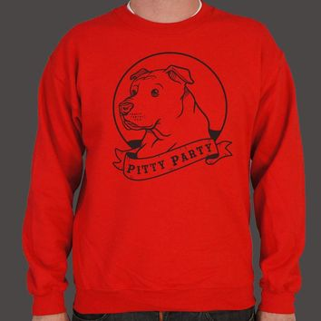 Pitty Party [Pit Bull] Men's Sweater