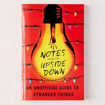 Notes from the Upside Down By Guy Adams | Urban Outfitters