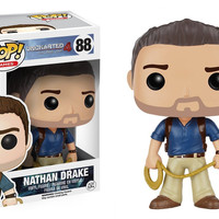 Pop! Games: Uncharted 4 A Thief's End - Nathan Drake 88 Vinyl Figure (New)