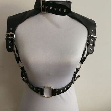 ac DCCKO2Q New Arrival B762 Women Harness Silver Slave Shoulder Body Chains Sexy Body Chains Jewelry