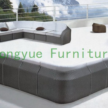 rattan garden sectional sofa furniture,outdoor furniture