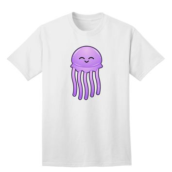 Cute Jellyfish Adult T-Shirt by TooLoud