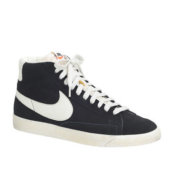 JCrew Mens Nike Blazer High Suede Vintage Sneakers