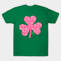 Pretty Shamrocks Design for St Patrick's Day by scarebaby