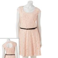 Candie's® Lace Skater Dress - Juniors