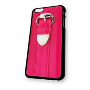 Patent pink clutch for iphone 6 case