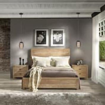 The Gray Barn Barish Queen-size Solid Wood Panel Bed | Overstock.com Shopping - The Best Deals on Beds