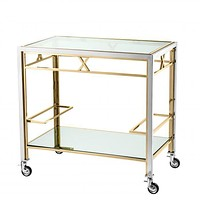 Gold Bar Cart | Eichholtz Lindon