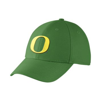 Nike Dri-FIT Swoosh Flex (Oregon) Fitted Hat Size FLX
