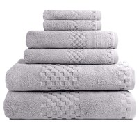 Beverly Hills Luxury Hotel Resort Bath Towels - Sets of 6