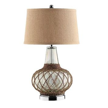 90025 - Genie Glass Table  Lamp - Free Shipping!