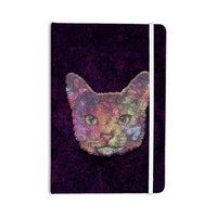 "Ancello ""Rainbow Cat"" Pastel Purple Everything Notebook"