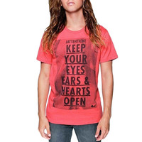 Glamour Kills - Attention Notice Heather Coral T-Shirt