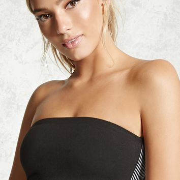 Active Striped Tube Top