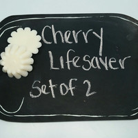soy candle CHERRY LIFESAVER TYPE Wax Melt/tart for warmer/Phthalate Free/ Soy Wax Tart /Highly Scented Wax Melts/handmade
