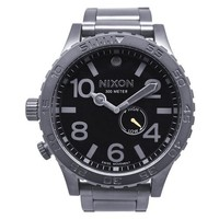 Nixon Men's A057-680 Stainless-Steel Analog Black Dial Watch