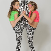 Love Dance Leggings | Dance-Extras