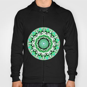 My Mandhala | Secret Geometry | Energy Symbols Hoody by Azima