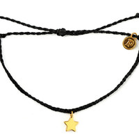 Gold Bitty Star Black