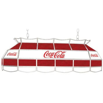 Coca Cola Red & White Vintage 40 Inch Tiffany Lamp