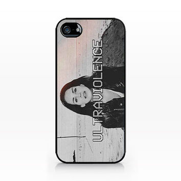 AWC-146- Lana Del Rey – Ultraviolence-Iphone 4/4s, Iphone 5/5s hard plastic case