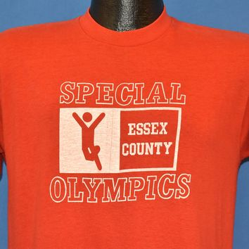 80s Special Olympics Essex County t-shirt Medium
