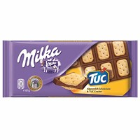 Milka Chocolate with Tuc Biscuits 3 oz. (87g)