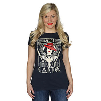 Agent Carter Art Deco Ladies' Tee