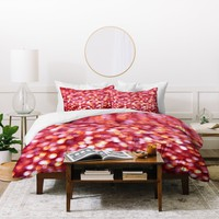 Lisa Argyropoulos Holiday Cheer Sparkling Wine Duvet Cover