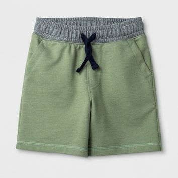 Toddler Boys' Pull-On Shorts - Cat & Jack™ Pioneer Sage