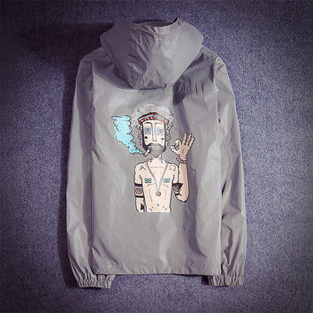 Jacket Couple Cartoons Windbreaker [9273987975]