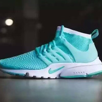"Women "" NIKE "" Fashionable Personality Solid Color Casual Sneakers"