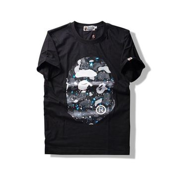 hcxx A Bathing Ape Space Camo Big Ape Head T-Shirt