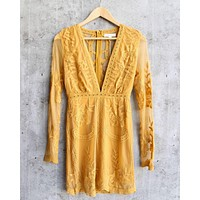 honey punch - as you wish embroidered lace mini dress - more colors