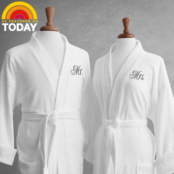 Solidarity Lakeview Signature Egyptian Cotton Terry Spa Robes
