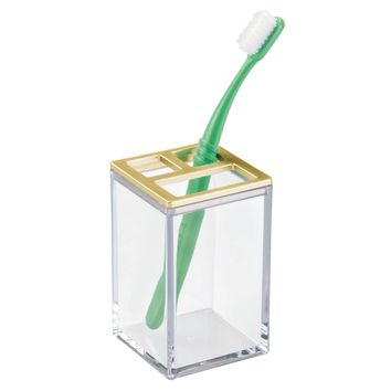 Clear Toothbrush Holder