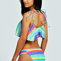 California Bright Cropped Bikini