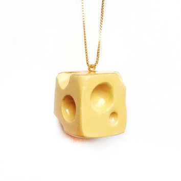 Scented Fake Food Jewelry with Gold
