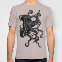 Octopus T-shirt by Nicklas Gustafsson