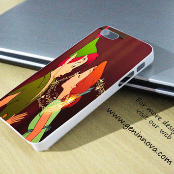 Peter Pan and Wendy Kissing Samsung Galaxy S3/ S4 case, iPhone 4/4S / 5/ 5s/ 5c case, iPod Touch 4 / 5 case